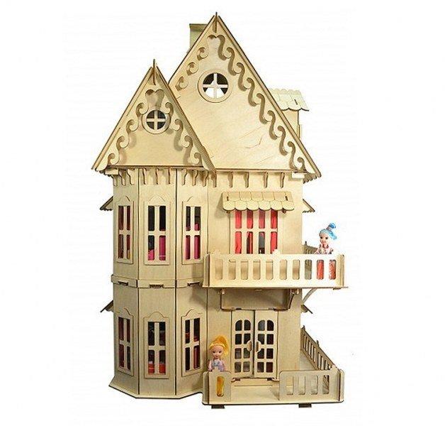 Домики для кукол Огонек, кукольный домик Огонек, мебель для кукол ... | 600x628